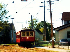 The East Troy Electric Railroad and Museum. East Troy Wisconsin. September 2006.
