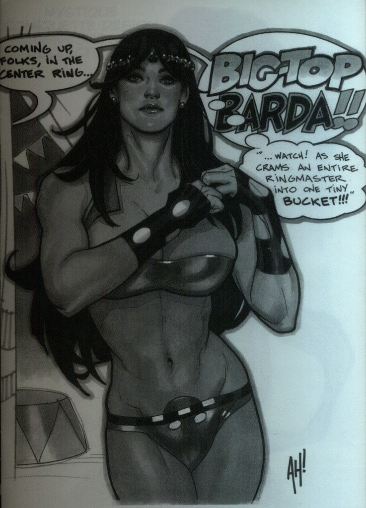 Big Barda (Adam Hughes, sketchbook 2009)
