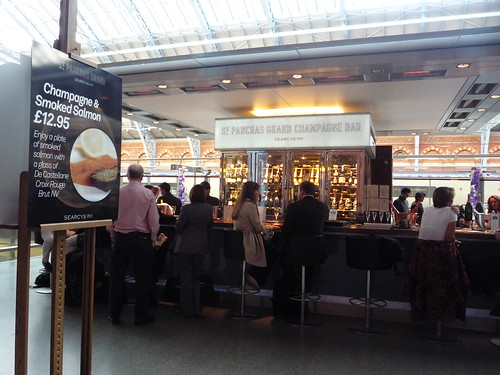 St Pancras Champagne Bar by you.