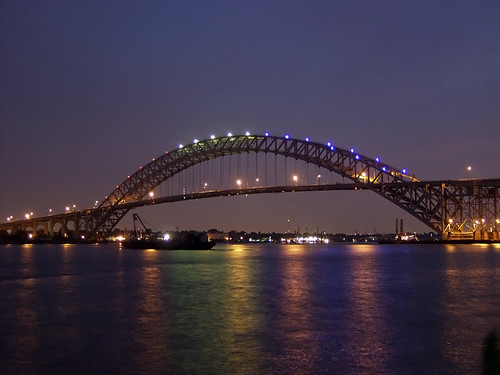 The Bayonne Bridge is currently the fourth longest steel arch bridge in the world.