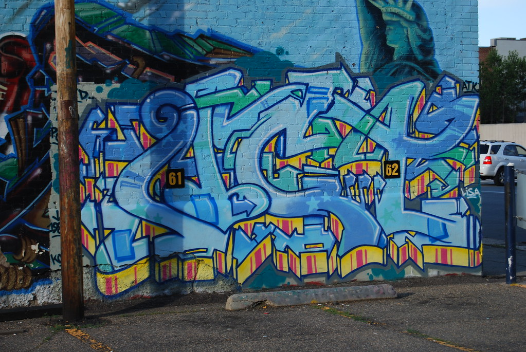 Act Graffiti Piece - Denver, Colorado.