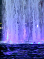 Shops at Legacy - Water Fountain