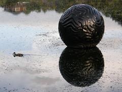 2007-12-23-Stoneleigh-2007-20-07-Pearliculture (russellstreet) Tags: newzealand sculpture auckland nzl manukau aucklandbotanicalgardens sculpturesinthegarden2007 stoneleighsculpturesinthegarden2007 johnioane pearliculture