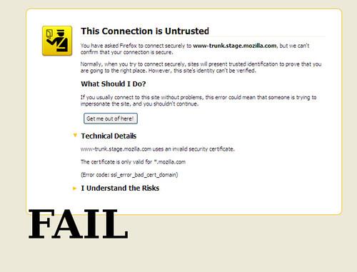 Mozilla Fail