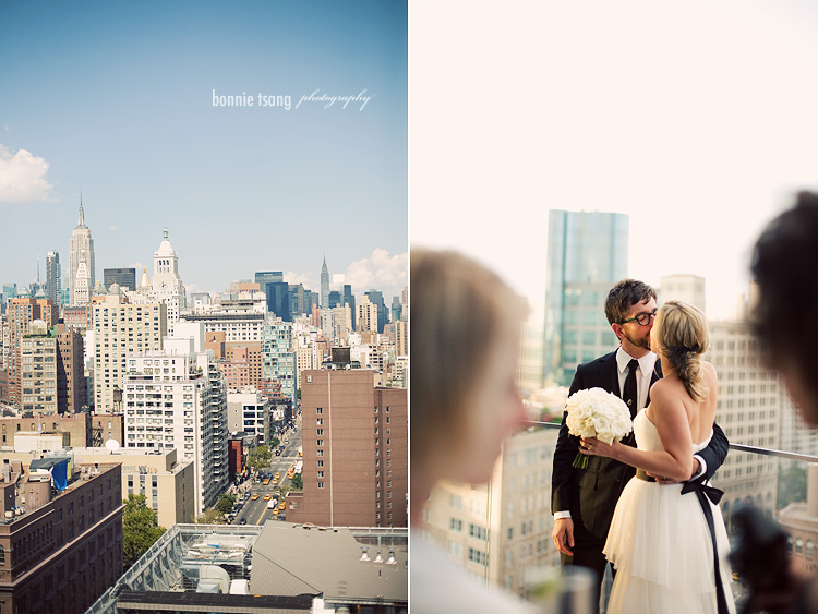caroline and michael cooper square hotel new york wedding