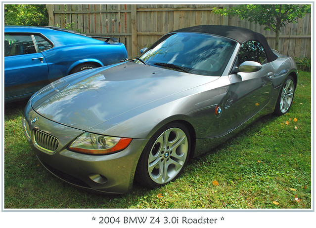 car automobile bmw z4 2004bnwz4