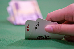 Time to Fold (WetCraft) Tags: canon cards ace poker jerome fold pinoy chua pokerface 2470mm llens canon50d jeromechua