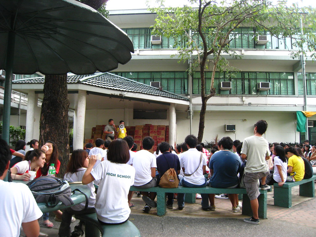 LaSalle Green Hills University Ondoy Relief Meeting