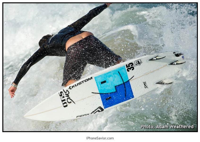 Mac Surfboard Adam Bennetts