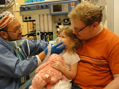 DSC02132 (adamwlewis) Tags: adam hospital surgery eyesurgery anesthesia moleremoval lilliann cincinnatichildrens nevusremoval libertycampus