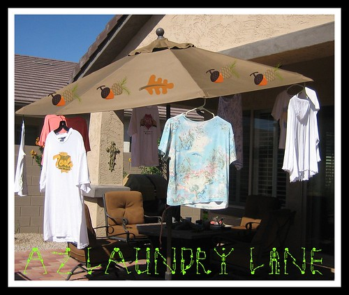 az laundry line