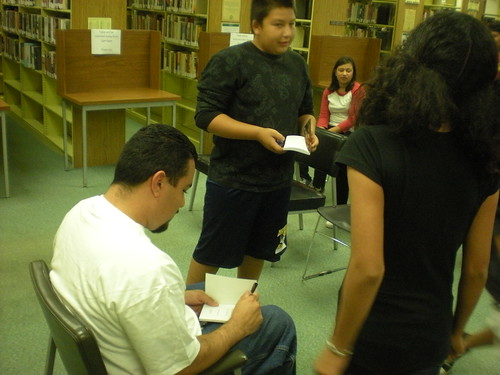 David Bueno-Hill Teen Author  by Commerce Library.