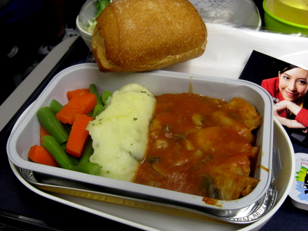 Cathay Pacific food
