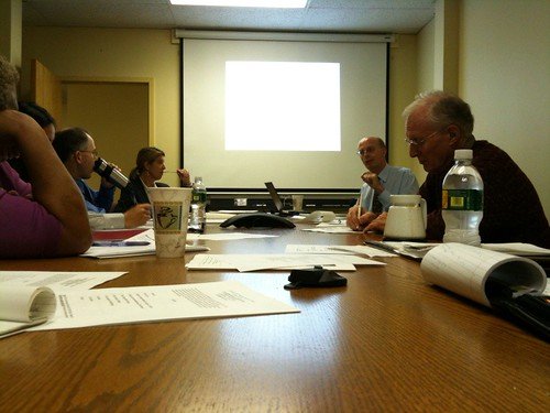 Hub of Hartford steering committee meeting. Photo H Brandon