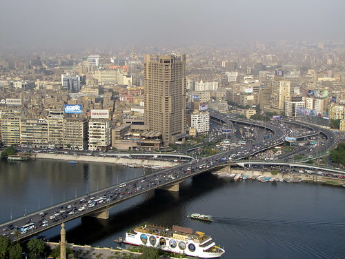 View of Cairo from Cairo Tower / Gezira Tower - Cairo, Egypt