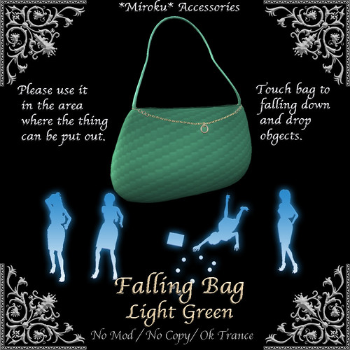 Faling Bag Light Green