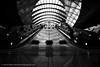 Escalator @ Canary Wharf! (Alan Cotter) Tags: england london station district tube business canarywharf alancotter