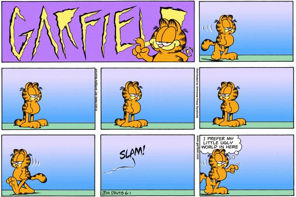 Garfield Minus Arbuckle, June 1, 2003
