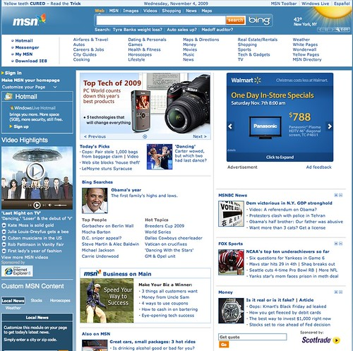 MSN Home Old