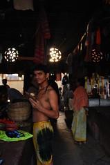 morning ritual (phishpot) Tags: morning light india colours religion bazaar calcutta