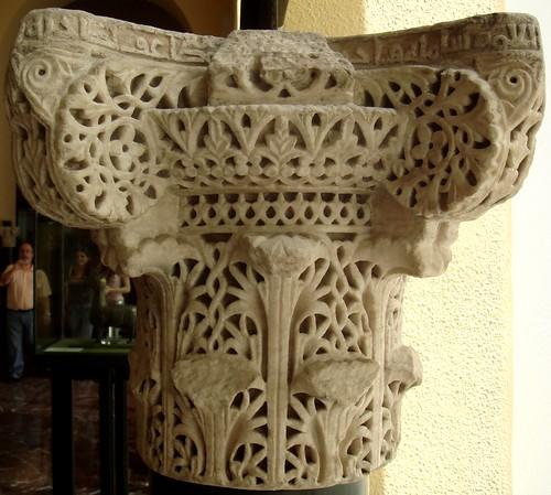 Capiteles cordobeses en el Museo Arqueológico Nacional  Museo Imaginado de C...