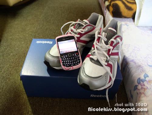 reebok with blackberry