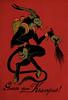 krampus postcardsm (missmonstermel) Tags: christmas postcard card german demon devil krampus missmonster