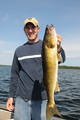 Large walleye (North Star and North Haven Resorts) Tags: canada haven plane lunch corporate star fly fishing cabin five north lodge resort manitoba gourmet shore pike float northern spa luxury walleye sauna outpost