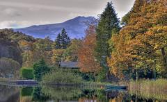 Autumn Again (kenny shields) Tags: trees scotland boat nikon scenic trossachs d300 lochard