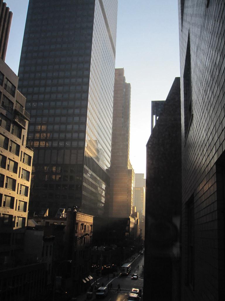 Sunlight @ 6:30, 55th Street