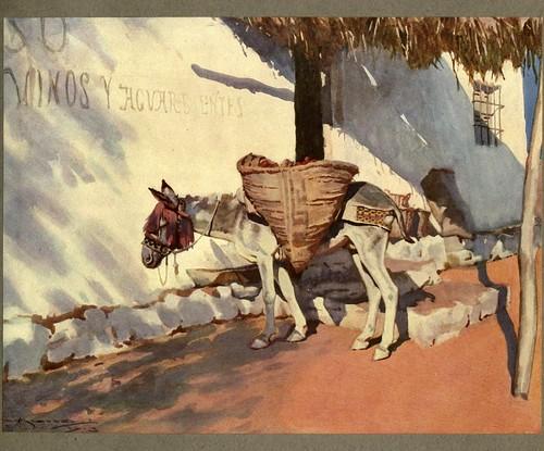 017- La siesta en Sevilla-An artista in Spain 1914- Michael Arthur C.