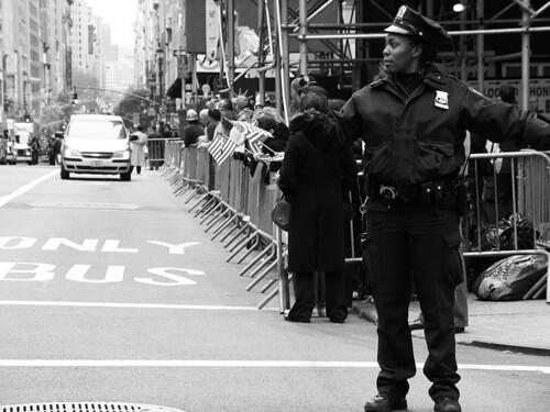 Policewoman, Midtown