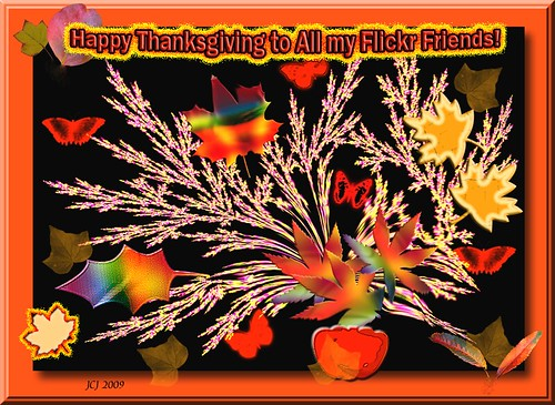 HAPPY THANKSGIVING FLICKR FRIENDS