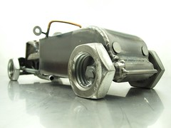 1932 Ford scrap metal sculpture