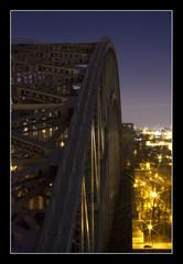 Hell_Gate (dbjules) Tags: nyc longexposure railroad bridge skyline arch queens amtrak eastriver astoria span trespassing trainbridge csx hellgate myhoneystakesgreatpictures