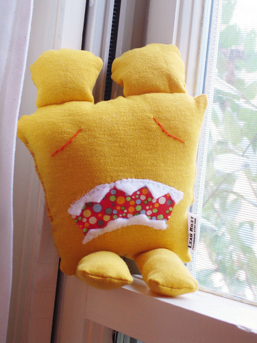A Plush A Day Challenge: Day 16 - The Saddest Monster