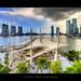 Dark Clouds over Singapore Esplanade :: HDR