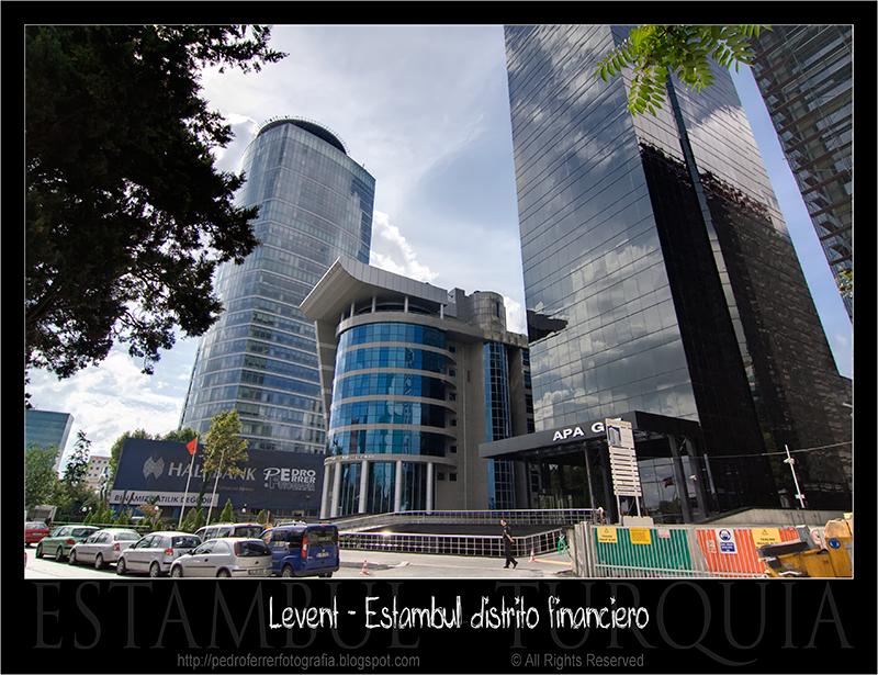 Levent - Estambul distrito financiero