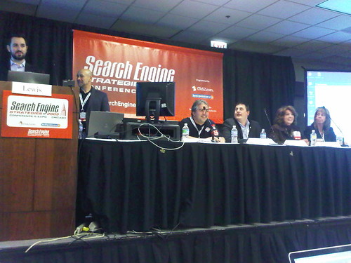 PPC or SEO panel at SES Chicago