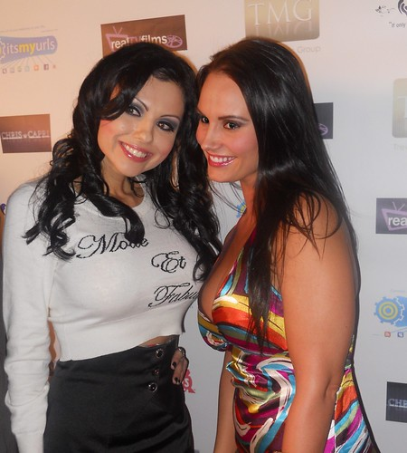 Krystle Lina - Kristen DeLuca - Toys For Tots Charity Event - F.A.M.E Mixer / London Moore's Birthday Bash