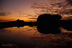 OLVid MiS OjOS EN ALGUN LUGAR dEL PAiSAjE.... (pakalwaters) Tags: trip viaje sunset reflection cindy mexico atardecer rojo riviera maya amor mayan reflejo xcaret reflexions nacho flamenco mayas narciso yazmin peraza pakalwaters varguez