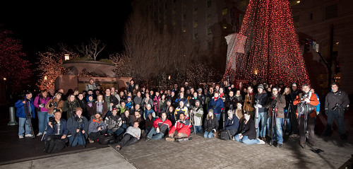 3rd Annual Photowalking Utah Temple Square - Group Shot