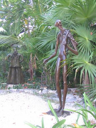 Two more sculptures at Yal Ku