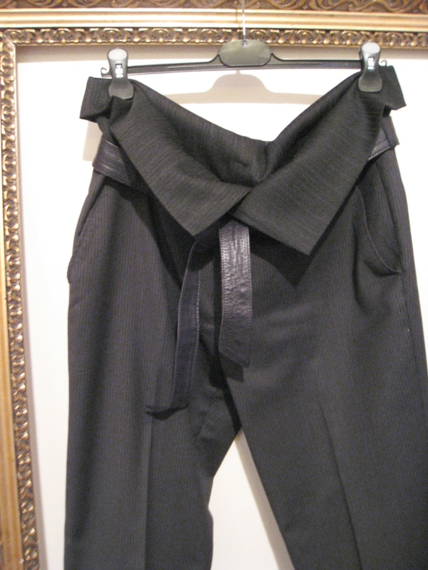 OutsaPop high waisted suit pants