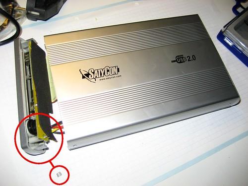 Carcasa Disco Duro USB