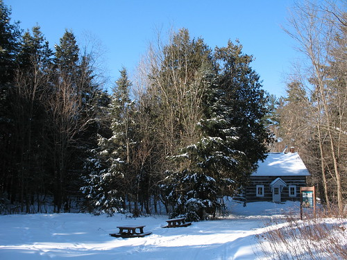 Herridge Hut (winter)