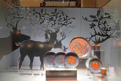Vitrines Hermes- Paris décembre 2009