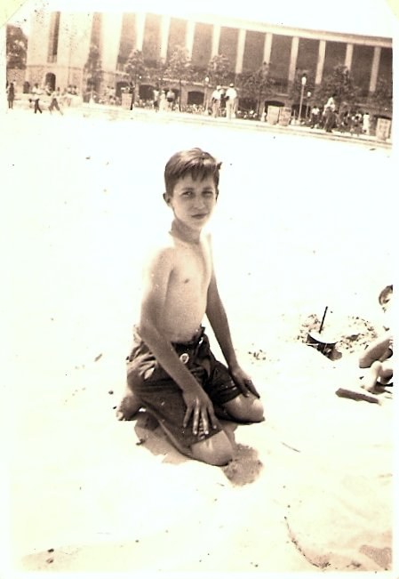 Joseph at the beach, c. 1935