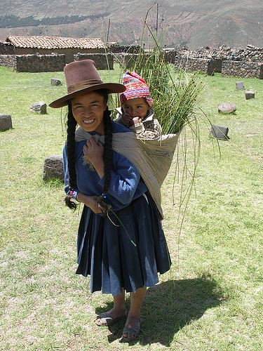 Andean woman