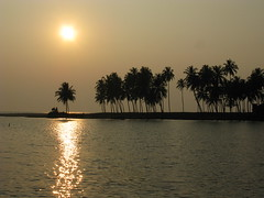 Kasaragod district, Malabar, North-Kerala, Kerala, India, Asia, Indien, Asien (hn.) Tags: ocean sunset sea copyright sun india beach water silhouette backlight strand river contraluz evening abend asia asien heiconeumeyer meer wasser sonnenuntergang kerala palmtrees exotic palmtree tropical romantic ufer fluss sonne palme indien coconutpalm backwater gegenlicht malabar southasia copyrighted palmen arabiansea exotisch ozean tropisch romantisch coconutpalms kasaragod kokosnusspalme kokospalme northkerala coconutpalmtree coconutpalmtrees arabischesmeer sdasien lakshadweepsea nordkerala kasarogod kasarogoddistrict